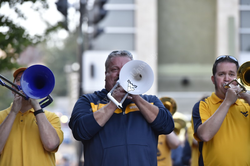 The 2018 Homecoming Parade was held on October 6, 2018 on High Street in Downtown Morgantown.