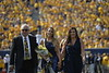 Homecoming Candidates and their Family's participated in the halftime ceremony on October 6, 2018. Douglas Ernest Jr. and Kendra Lobban were crowned King and Queen.