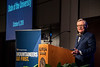President Gee delivers the State of the University at Erickson Alumni Center October 8th, 2018.  Photo Brian Persinger