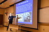Dr. John Howard, Director of NIOSH speaks during the School of Public Health's Dean's Colloquium in the Health Sciences Center October, 15th, 2018.  Photo Brian Persinger