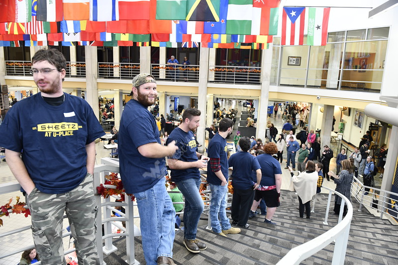 The Division of Student Life hosts their annual Beard Growing Competition Finals during Mountaineer Week at the Mountainlair October 24th, 2018.  Photo Brian Persinger