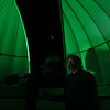 Veteran Rodney Elliott, a physics and Russian major poses for a portrait at the WVU Observatory.  <br /> 35026 WVU Mag Veterans<br /> WVU Photo/ Raymond Thompson<br /> WVU Magazine