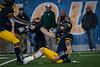 WVU Quarterback Will Greer ISO action WVU vs Baylor October 25, 2018. Photo Greg Ellis