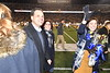 Stephen Scott and Mia Antinone are named the 2018 Mr and Ms. Mountaineer during halftime of the Baylor football game at Mountaineer Field Oct 25th, 2018.  Photo Brian Persinger