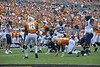 The Mountaineer football team opened the 2018-19 season against Tennessee in the Belk Kickoff Game in Charlotte, North Carolina on September 1, 2018. The Mountaineers played a dominant game and beat the Volunteers 40-14. Photo by Alex King.
