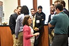 Donors, students and factuality take part in the School of Dentistry Fall Scholarship Dinner at the  Erickson Alumni Center September 27, 2018. Photo Greg Ellis.