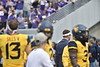 The Mountaineer football team faced off against Kansas State on September 22, 2018. WVU won the game 35-6.