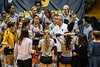 The Volleyball hosts a match versus Texas September 29th, 2018.  Photo Brian Persinger