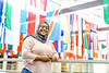 International students and faculty are photographed on the West Virginia University campus by StudyGroup September 24th, 2018.  Photo Richard Lea-Hair