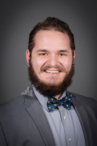 Bucklew Scholars and WVU Foundation candidates pose for portraits at the Mountain Lair April 3, 2019. Photo Greg Ellis