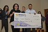 The 3 Minute Thesis Competition finale was held in the Mountainlair Ballrooms on Thursday April