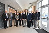 Members of the Chemical Biomedical Engineering Academy pose for a group photo April 5, 2019. Photo Greg Ellis