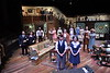 Student actors at the WVU CAC preform in the play You Can't Take It With You and pose for a photo call April 10,  2019; Photo Greg Ellis