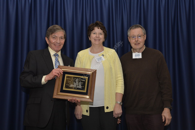 The Mechanical and Aerospace Engineering Luncheon took place on April 11. honoring three new inductees into the Distinguished Alumni Organization.