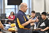 Perceptive WVU Medical students take part in WVU Rural Health Day actives giving them insight and experiences with the delivery of medical care in rural WV at the HSC April 12, 2019. Photo Greg Ellis