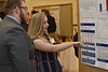 Undergraduate students present their research at the Spring Research Symposium held at the Mountainlair Ballroom on April 13, 2019.