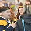 Prospective WVU  students and their parents vist the WVU VRC April 15, 2019. Photo Greg Ellis