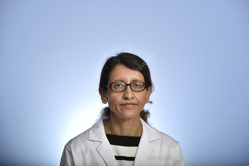 Yasmin Hamirani Department of Cardiologyposes for a portrait at the HSC studio  April 2019. Photo Greg Ellis