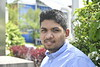 Lohith Routhu poses for photographs on the downtown campus April 24th, 2019.  Photo Brian Persinger