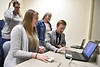 Staff, students and faculty participate in Demo Day on the Evansdale Campus April, 25th 2019.  Photo Brian Persinger