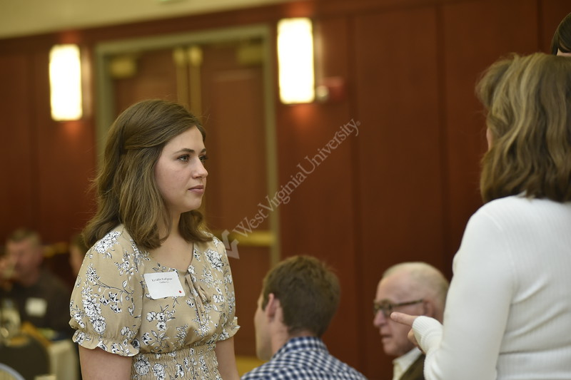 Students and staff of the Statler College of Engineering gathered at the Erickson Alumni Center to recognize major accomplishments. Scholarships were awarded and individuals were recognized for their achievements. The event was held on April 26, 2019.