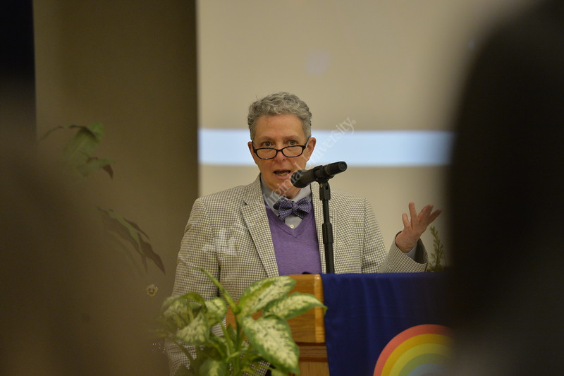 The 2019 Lavender Graduation was held in the Mountainlair Ballrooms on April 28, 2019. This graduation honors students of the LGBTQ+ Community and their accomplishments at WVU.