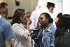 The WVU Decide Day Honors Reception was held at E. Moore Hall on Saturday April 13, 2019. Incoming students discussed the honors college with current students and the dean.