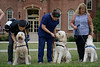 Service dogs from Hearts of Gold pose for their photo outside Woodburn on Wednesday, August 14, 2019.