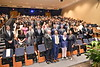 WVU School of Dentistry students take part in the  School of Dentistry Professionalism Assembly August 16, 2019. Photo Greg Ellis