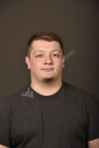 Andrew Goodman poses for Staff council Portrait August 21, 2019. Photo Greg Ellis