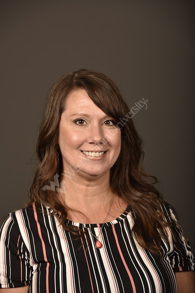 Squires, Janelle poses for Staff council Portrait August 21, 2019. Photo Greg Ellis