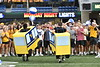 The WVU community comes together to celebrate incoming freshmen students with actives at Mountaineer Field building friendships and community. August 19, 2019. Photo Greg Ellis