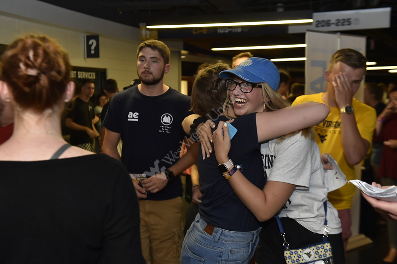 Students gathered at the Coliseum to explore student organizations and to enjoy the Avengers Endgame movie on August 18, 2019.