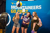 Freshmen, Sydni Trudo, Laura Wodarock, and Sophie Isiminger, enjoy the photo booth at the Eberly Academic Day on August 20, 2019 in the Mountainlair Ballroom. Photo Parker Sheppard
