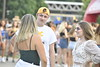 Students attend FallFest 2019 on the CPASS Greenspace August 21st, 2019.  Photo Brian Persinger