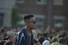 Students enjoy live music played at Fall Fest on August 20, 2019. Photo Parker Sheppard