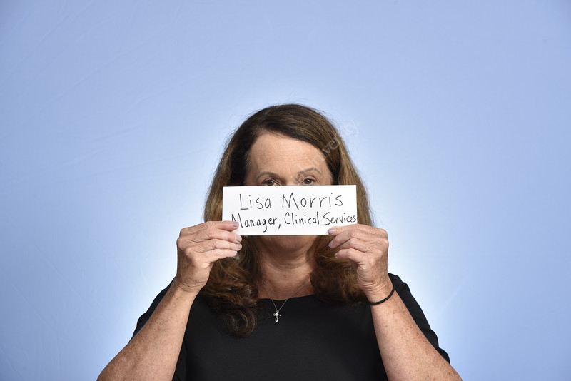 Lisa Morris, Pediatrics poses for a portraits at the HSC studio August 22, 2019. Photo Greg Ellis