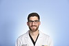 Ben Lasure, MD dept of WVU  Emergency Medicine poses for a portrait at the HSC studio August 27, 2019. Photo Greg Ellis