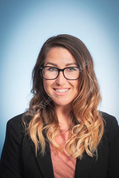Victoria Joseph WVU School of Medicine Provider poses for a portrait at the HSC studio August 29, 2019