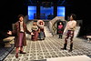 WVU CAC students perform Shakespeare's Twelfth Night at the Davis Theater CAC December 4, 2019. (WVU Photo/Greg Ellis)