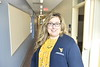 Recently named FFA National Board of Directors member Jessica Blythe, an Assistant Professor at the Davis College of Agriculture, Natural Resources and Design poses for photogrpahs in the Ag Sciences Building December 5th, 2019.  (WVU Photo/Brian Persinger)