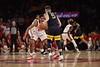The WVU Men's Basketball team took on Saint John's at Madison Square Garden December 7, 2019. (WVU Photo/Parker Sheppard)