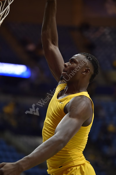WVU Men's Basketball took on Austin Peay on December 12, 2019 in the Coliseum. (WVU Photo/Parker Sheppard)