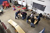 Davis College of Agriculture, Natural Resources and Design hosts an FFA Agricultural Technology and Mechanical Systems Career Development Event on the Evansdale Campus December 13th, 2019.  (WVU Photo/Brian Persinger)