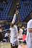 WVU Men's Basketball took on Nicholls on December 14, 2019 in the Coliseum. (WVU Photo/Parker Sheppard)
