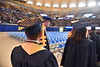 WVU holds its December 2019 Commencement at the Coliseum December 21st, 2019.  (WVU Photo/Brian Persinger)