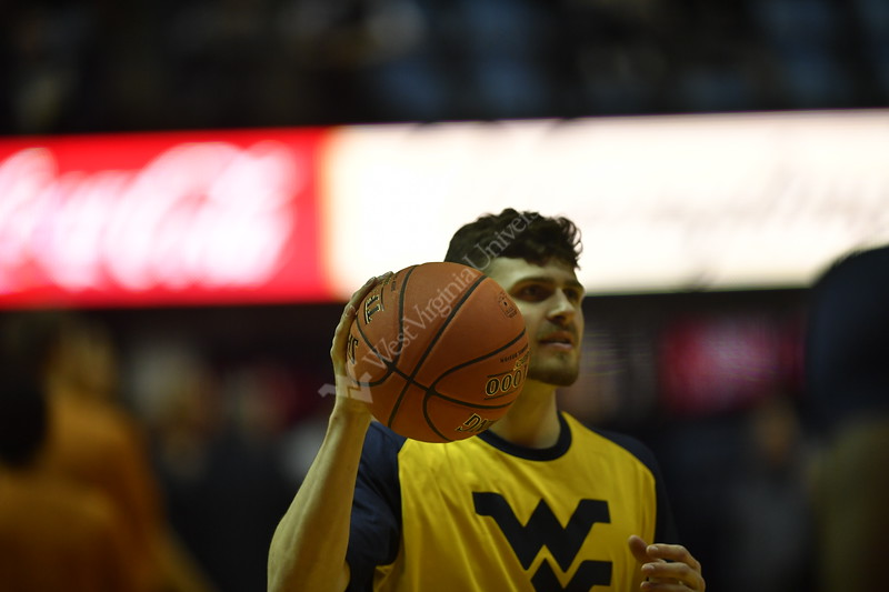 WVU Men's Basketball played Texas on February 9, 2019 in the Coliseum in Morgantown, WV.