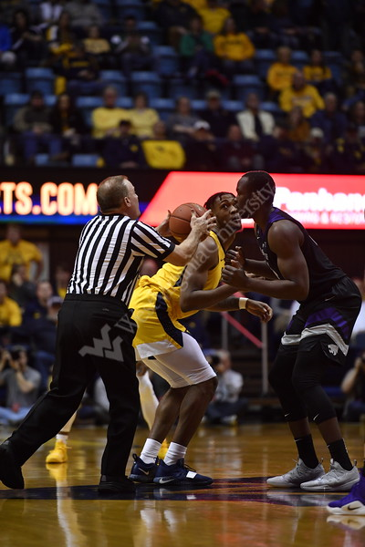 WVU Men's Basketball played Kansas State at the Coliseum on February 18, 2019.