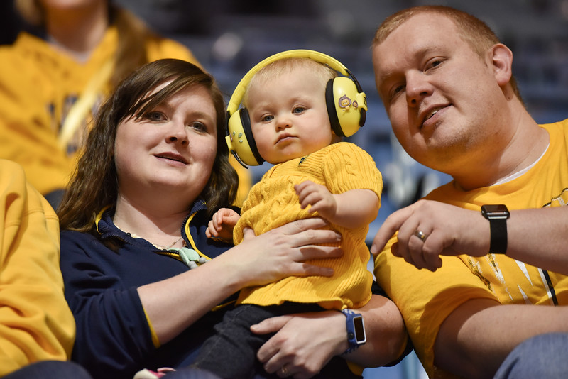 A future Mountaineer watches WVU take on K-State.