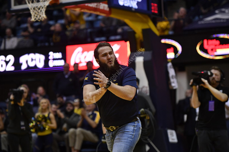 WVU played TCU in a triple overtime thriller in the Coliseum on February 26, 2019.